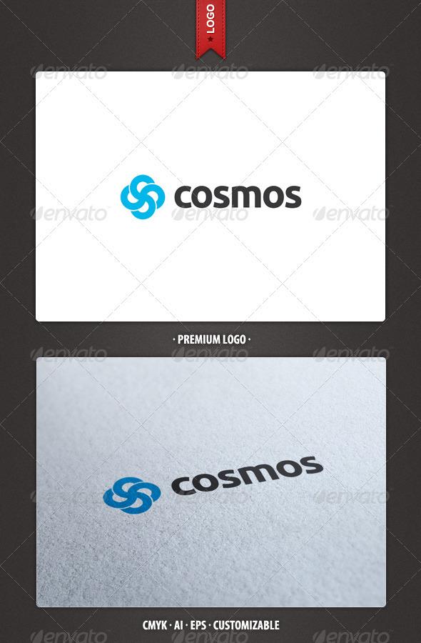 Cosmos - Abstract Logo Template - Abstract Logo Templates