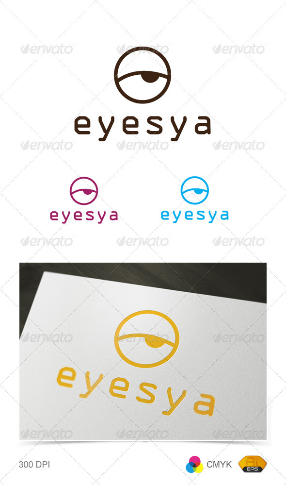 Eyesya Logo - Objects Logo Templates