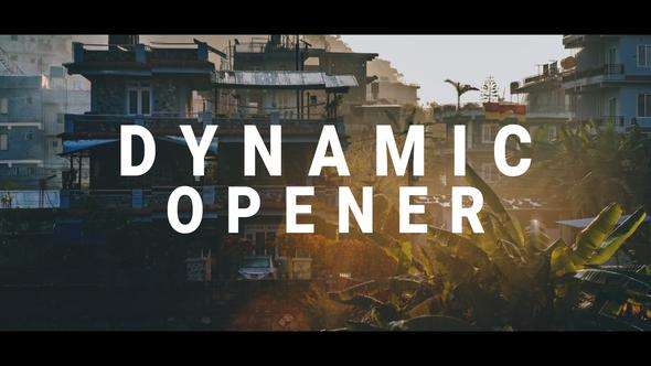 Dynamic Motion Opener