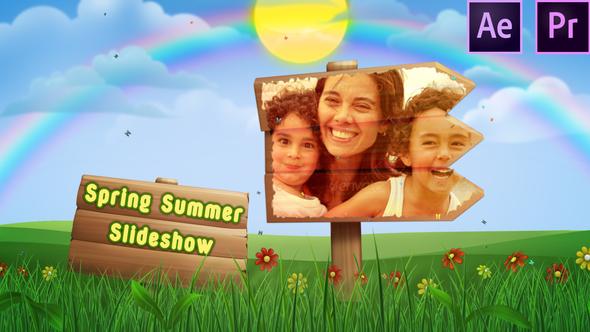 Spring Summer Slide Show – Premiere Pro