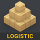 Logistic | 3D Isometric Pack - VideoHive Item for Sale