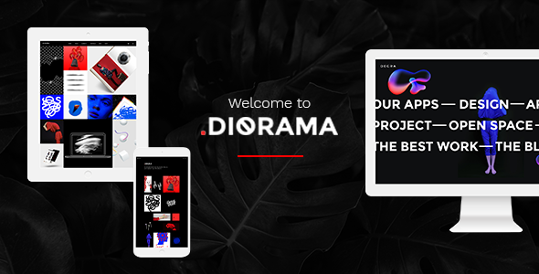 Diorama - Freelancer Portfolio & Agency Theme
