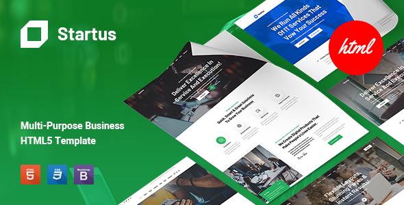 Startus - Multipurpose Business HTML5 Template