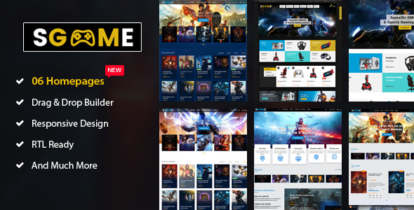 SGame - Responsive Accessories, Games Shopify Theme