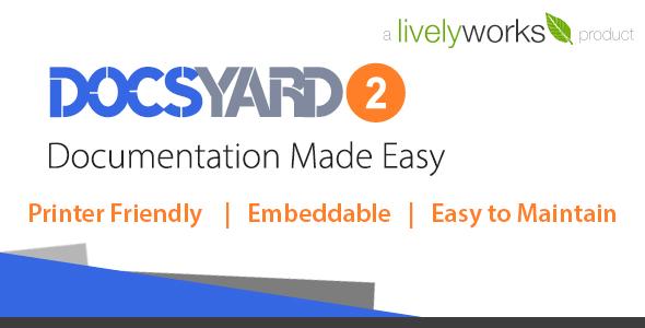 Docsyard - Easy Documentation Tool