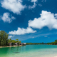 Tropical resort destination in Port Vila, Efate Island, Vanuatu, beach and palm trees - PhotoDune Item for Sale