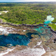 The Blue Lagoon from drone, Port Vila, Efate, Vanuatu - PhotoDune Item for Sale