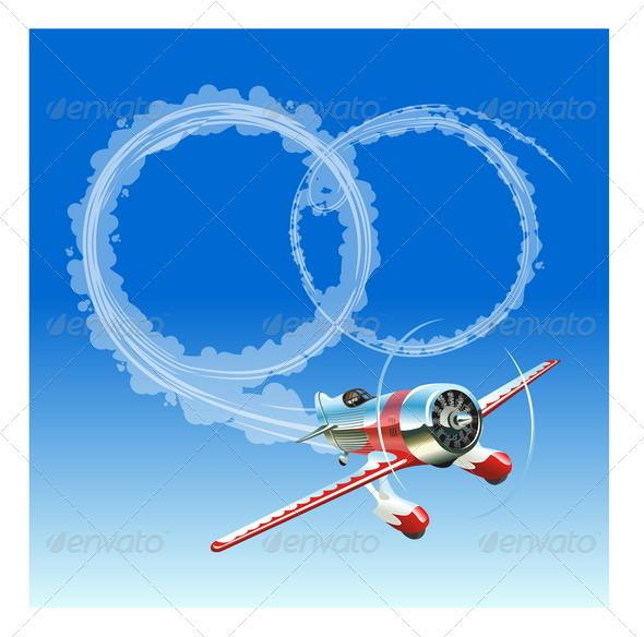Plane with Wedding Rings - Weddings Seasons/Holidays