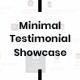 Testimonial-kit - Minimal testimonial showcase