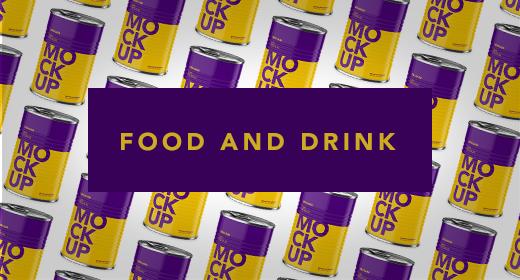 Food and Drink Mockups