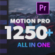 Motion Pro Premiere Kit | Titles -Transitions - Elements