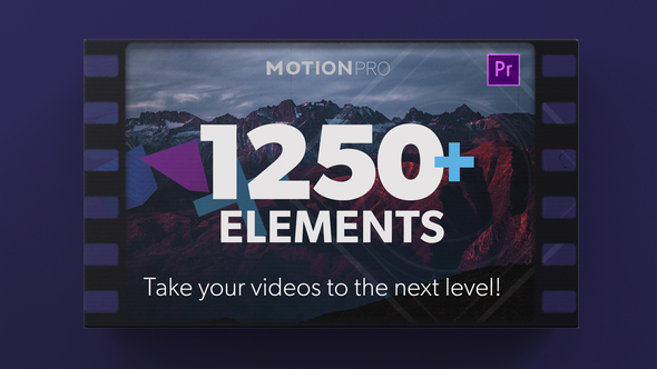 Motion Pro Premiere Kit | Titles -Transitions – Elements