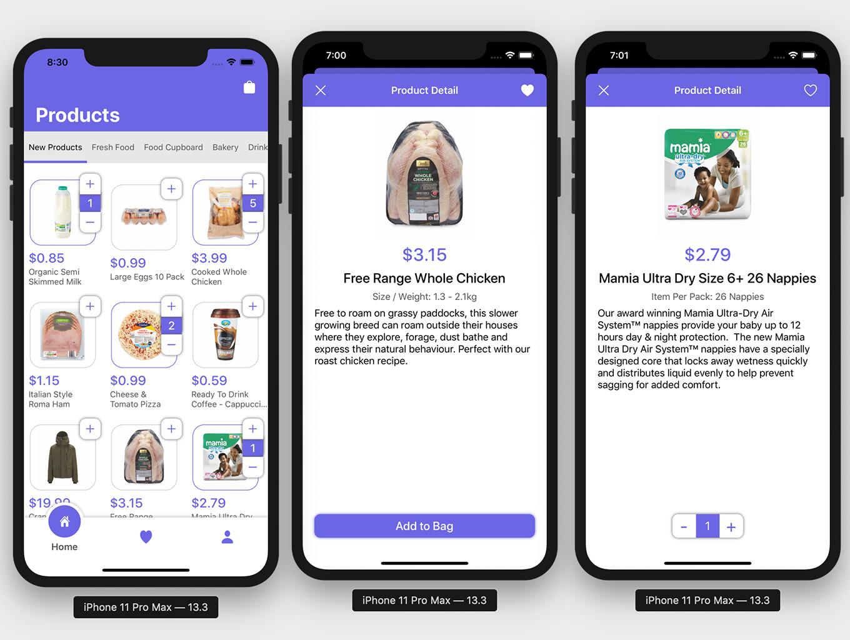 Market App 2.0 with Admin App | Full iOS Application - 1