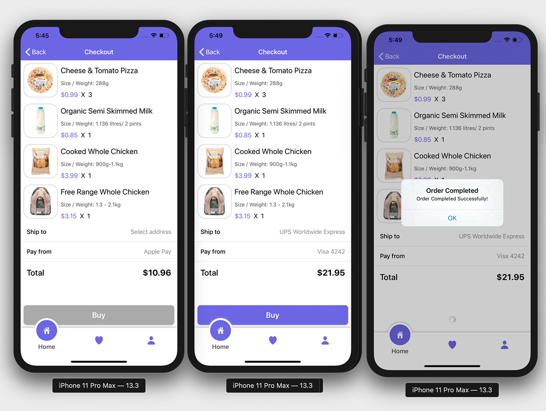 Market App 2.0 with Admin App | Full iOS Application - 2
