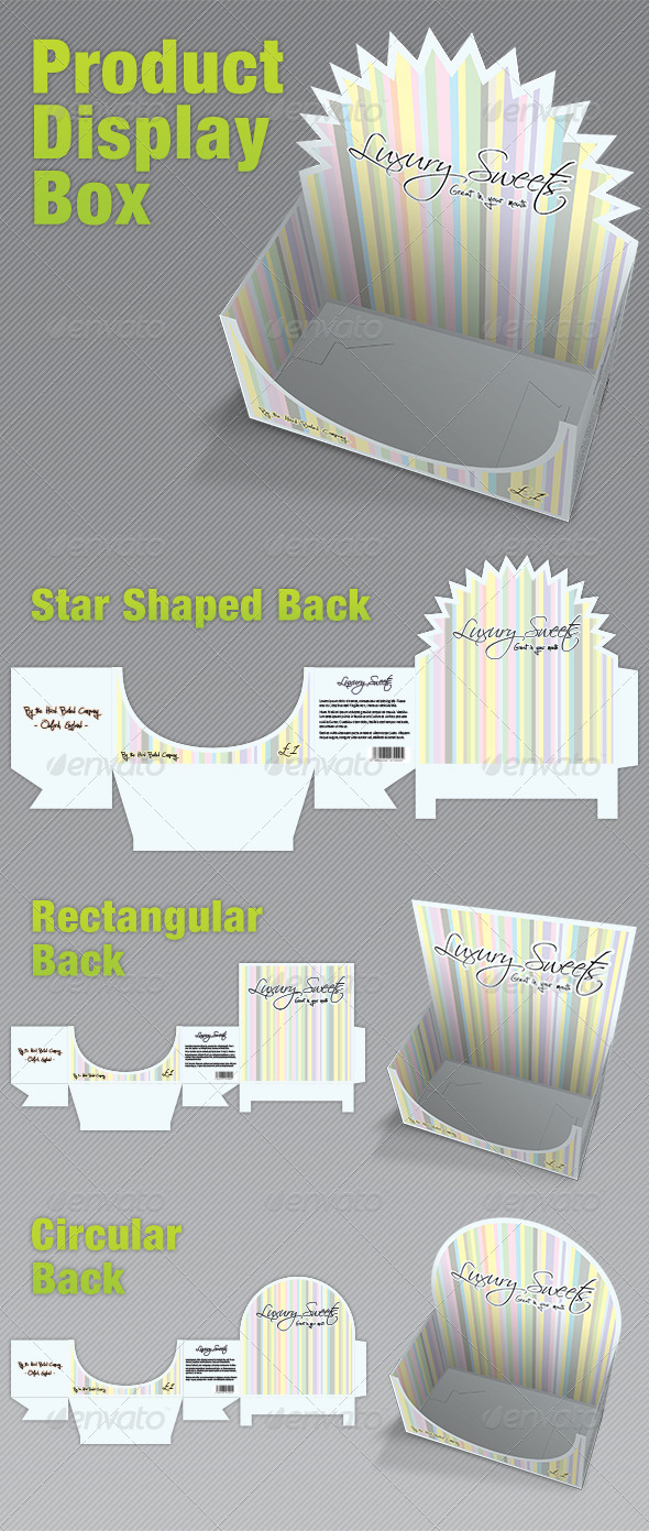 Product Display Box - Packaging by pirretjp | GraphicRiver