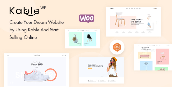 Download Kable – Multipurpose WooCommerce Theme Free Nulled