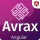 Avrax - Angular 9 IT Startups & Digital Services Template