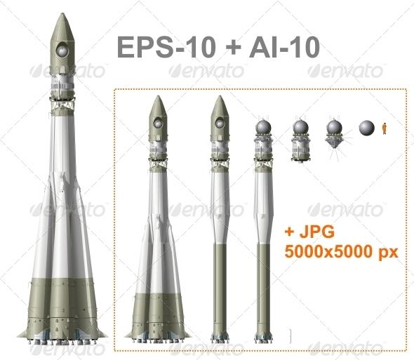 Space Rocket - Technology Conceptual