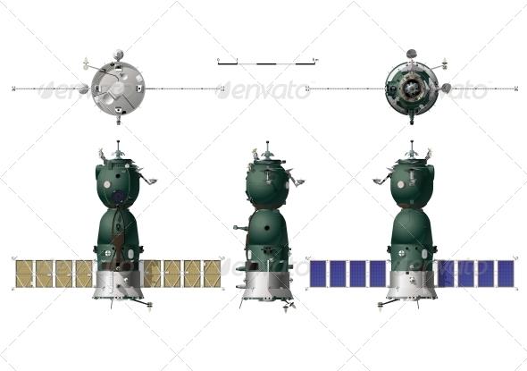 Spaceship - Technology Conceptual