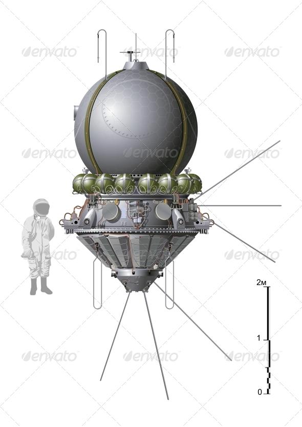 First Spaceship - Retro Technology