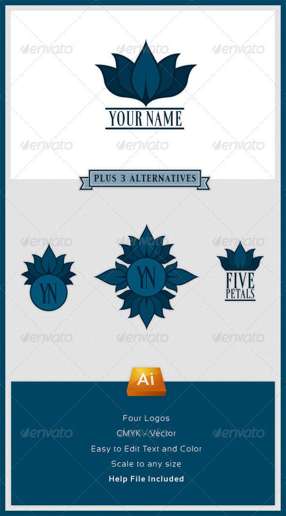Multipurpose Petals Logo - Nature Logo Templates