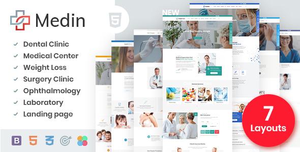 Medin – Medical Clinic HTML Template