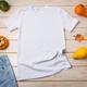 Unisex T-shirt mockup with pumpkins - PhotoDune Item for Sale