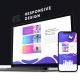 Dark Website Promo Mockup - VideoHive Item for Sale