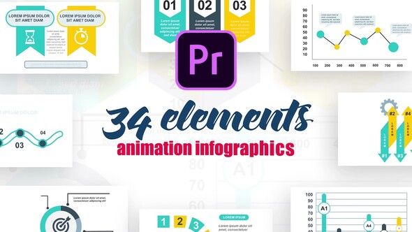 Infographics Vol.16 for Premiere Pro