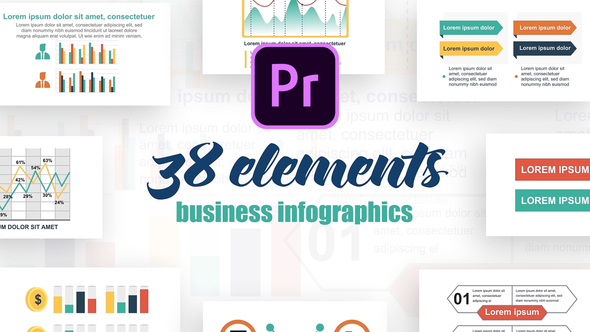 Infographics Vol.21 for Premiere Pro