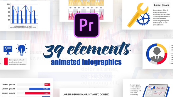 Infographics Vol.23 for Premiere Pro