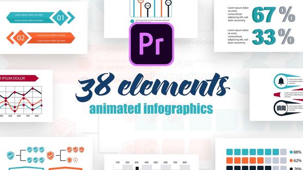 Infographics Vol.24 for Premiere Pro