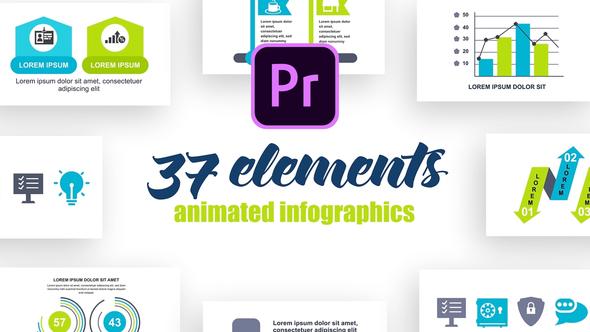 Infographics Vol.26 for Premiere Pro