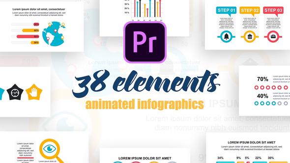 Infographics Vol.27 for Premiere Pro
