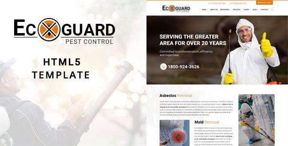 Ecoguard Pest Control HTML5 Template