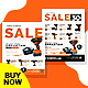 Power Tools Catalog Product Flyer Bundle