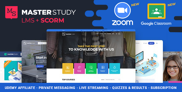 Education WordPress Theme – Masterstudy