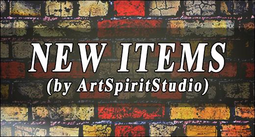 New Items by ArtSpiritStudio