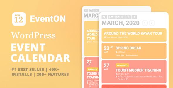 EventON - WordPress Event Calendar Plugin Nulled