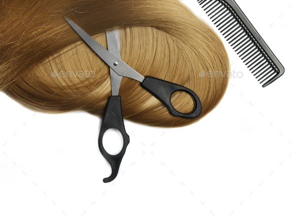 Hair extension - Stock Photo - Images