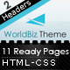 WorldBiz Theme - With Extra Features Nulled