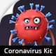 Coronavirus Character Animation DIY Kit - VideoHive Item for Sale