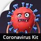 Coronavirus Character Animation DIY Kit - VideoHive Item for Sale