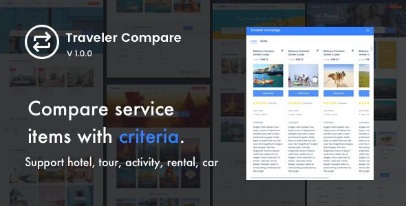Traveler Compare (Add-on)