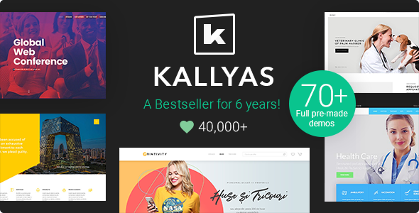Special KALLYAS - Creative eCommerce Multi-Purpose WordPress Theme