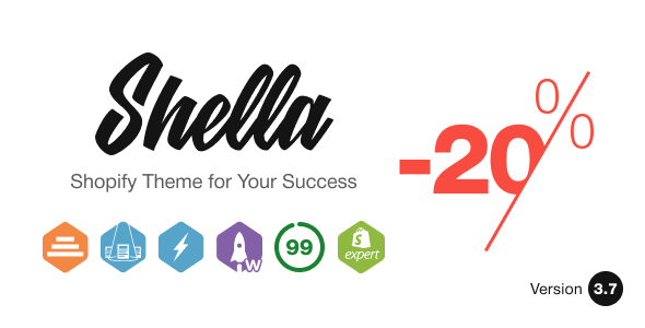 Shella – Multipurpose Shopify theme, fastest with the banner builder