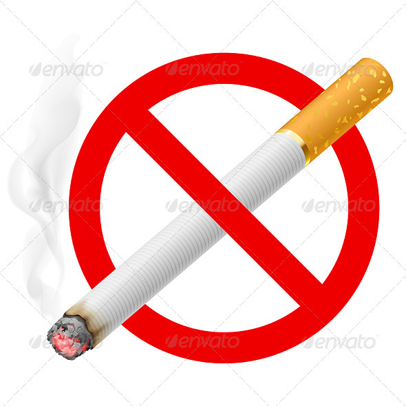 The Sign No Smoking - Health/Medicine Conceptual