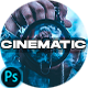 Blue Cinematic City Photoshop Actions