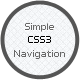 Simple CSS3 Navigation - CodeCanyon Item for Sale