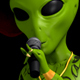 Space Alien Rapper Gangster 4K - VideoHive Item for Sale